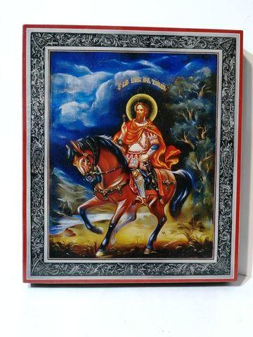 Икона святой Игорь Черниговский на дереве на левкасе мастерская Иконный Дом