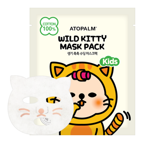 Маска ATOPALM Wild Kitty Mask Pack Kids 15ml 1шт.