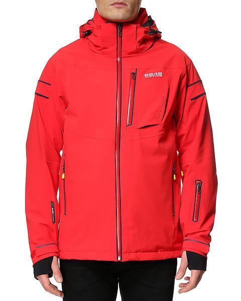 Мужская горнолыжная куртка 8848 ALTITUDE «SWITCH» красная (782903) фото