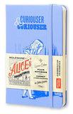 Блокнот Moleskine Limited Alice in Wonderland Pocket 90x140мм 192стр нелинованный голубой (LEAL01QP012)