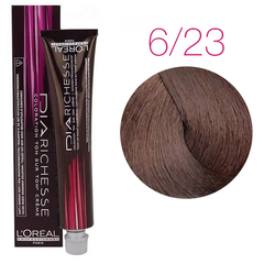 L'Oreal Professionnel Dia Richesse 6.23 (Шоколадный трюфель) - Краска для волос