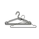Алюминиевые вешалки для одежды (4шт.), артикул 118647, производитель - Brabantia
