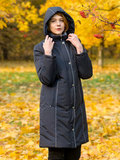 Maritta пальто Inkeri темно-синий