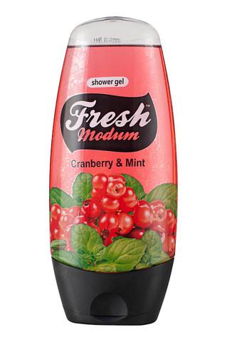 Modum Modum Fresh Гель для душа Cranberry & Mint 250мл