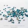 2058 Стразы Сваровски холодной фиксации Caribbean Blue Opal ss 5 (1,8-1,9 мм), 20 штук (WP_20140813_15_26_21_Pro)