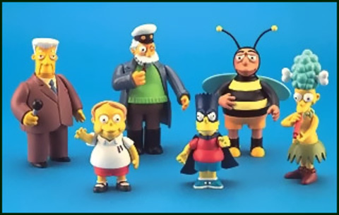 The Simpsons Figures Series 05