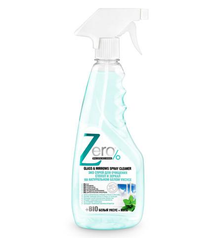 ZERO спрей для очищения стекол и зеркал 420 мл