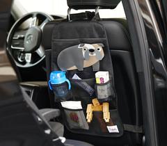 Органайзер на спинку сидения автомобиля 3 Sprouts Коричневый ёжик 00029