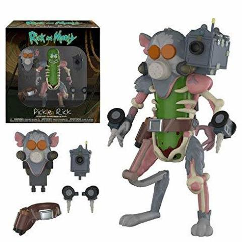Action Figure: Rick & Morty: Pickle Rick 29783