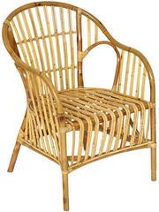 Кресло NAGOYA /без подушки/ skin rattan eco, 57x62х82см, Natural (натуральный)