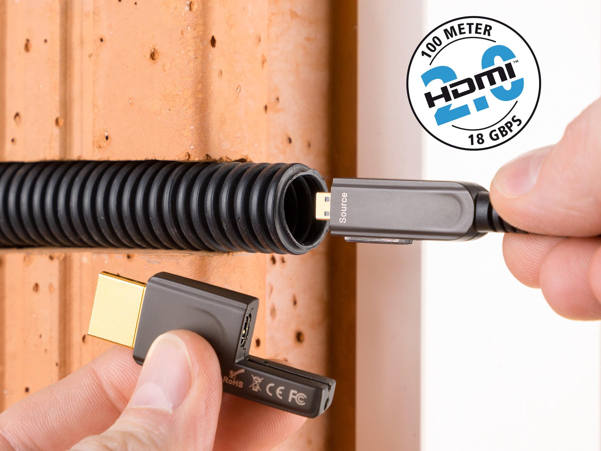Inakustik Exzellenz Profi HDMI2.0 18Gbps,Typ D>A