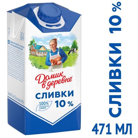 Сливки Домик в Деревне 10% 480г