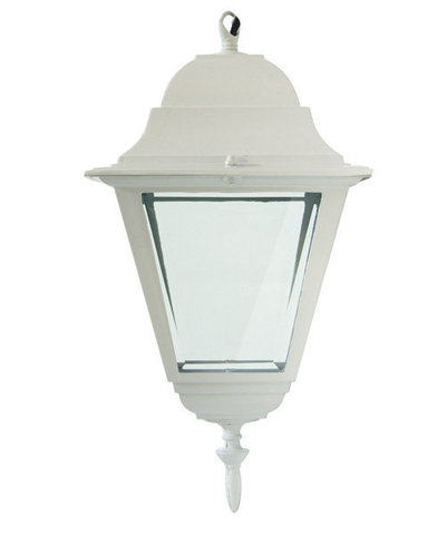 Светильник садово-парковый, 60W 230V E27 белый, 4105 (Feron)