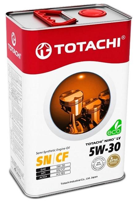NIRO LV SEMI-SYNTHETIC SAE 5W-30 TOTACHI масло моторное полусинтетическое (4 Литра)