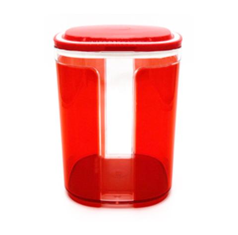 Контейнер Элегант 1,5 л в красном цвете