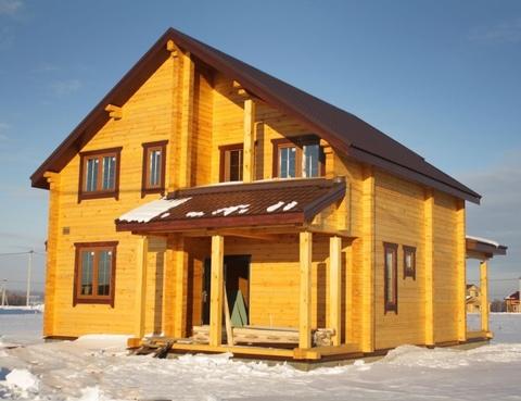 """Дом из бруса """"МД-Б-165"""" 165 кв.м."""