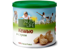 Кешью с луком Nuts for Life, 115г
