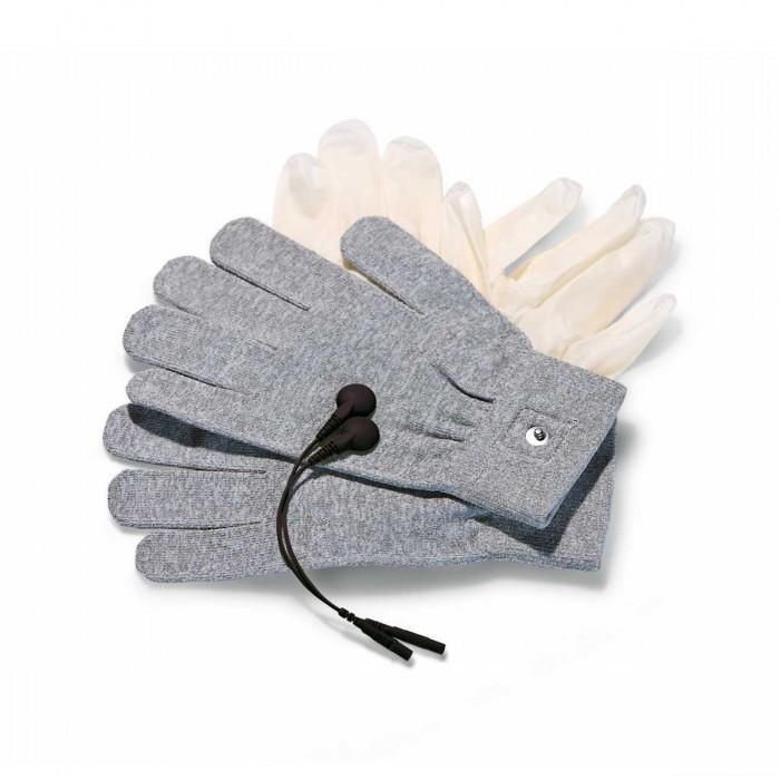 Электростимуляторы: Перчатки для чувственного электромассажа Magic Gloves