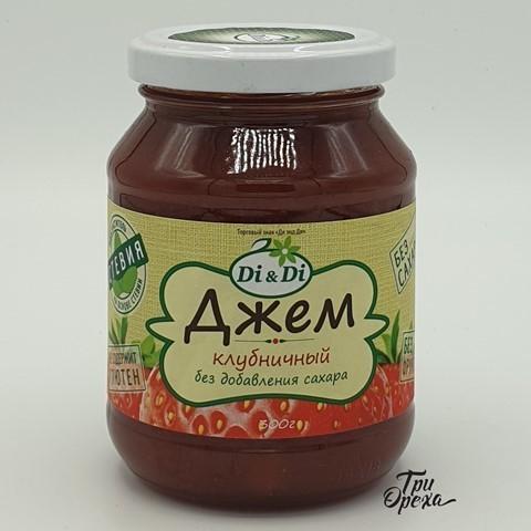 Джем клубничный без добавления сахара Di&Di , 300 гр
