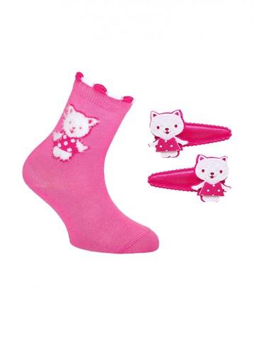 Детские носки Tip-Top 17С-88СП (с заколками для волос) рис. 289 Conte Kids
