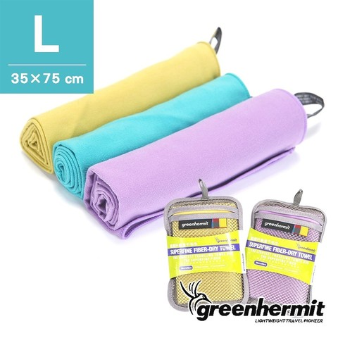 Полотенце Green-Hermit Superfine Fiber Day Towel L