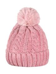 HT1805-1 шапка женская, розовая