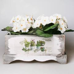 Деревянное кашпо для хранения, 7349-4