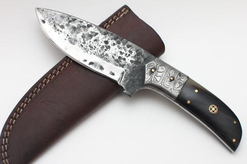Нож с фикированным клинком ручной работы
