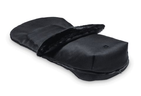 Конверт в Коляcку Moon Foot Muff Panama Black (802) 2019