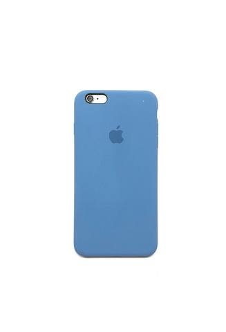 Apple iPhone 6/6S Plus Чехол Silicon Case (Голубой)