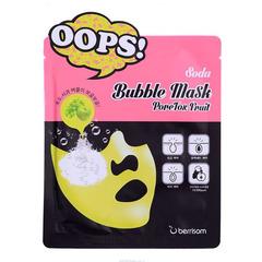 Berrisom Soda Bubble Mask PoreTox Fruit - Маска пузырьковая для ухода за порами