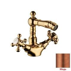 Смеситель для биде двухвентильный с донным клапаном Palazzani Adams Color 52421551 фото