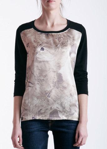 Блуза из шелка MARANI JEANS