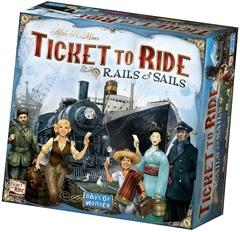 Билет на Поезд. Рельсы и Паруса
