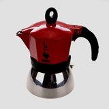 Кофеварка гейзерная Bialetti &#34Moka Induction red&#34 240 мл, артикул 4923, производитель - Bialetti