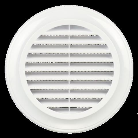 Решетка круглая Blauberg Decor 150s пластиковая