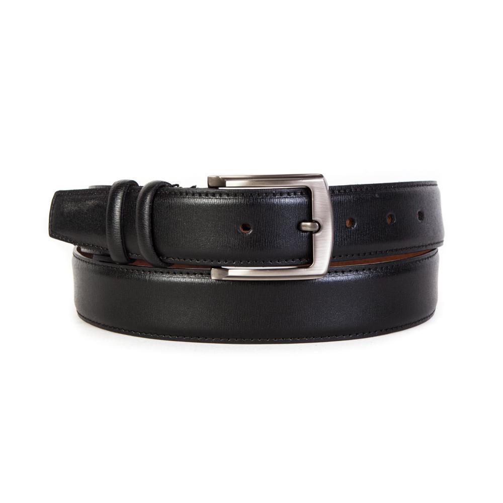 Ремень брючный чёрный 35 мм Doublecity RC35-31-03