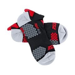 D-Core Footie Sock / Черно-красный
