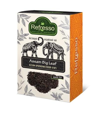 Чай черный Ассам крупнолистовой (FOP), 100 г, Refresso (Индия)