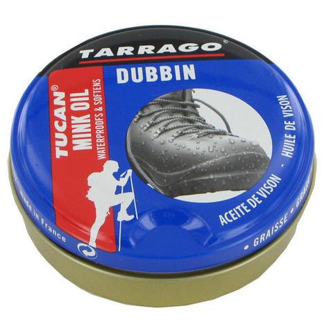 Норковое масло для гладкой кожи Tucan MINK OIL, банка, 100мл.