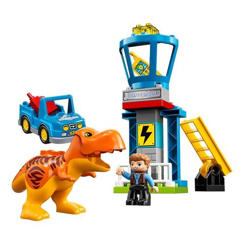 LEGO Duplo: Jurassic World — Башня ти-рекса 10880 — T. rex Tower — Лего Дупло Мир юрского периода
