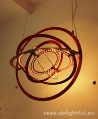 люстра  Art  Design  Copernico ( 60 cм красная )