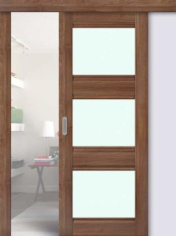 Дверь раздвижная Profil Doors №3Х , цвет орех сиена, глухая