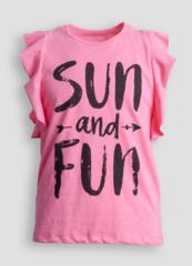 Детская женская футболка E18K-44M101