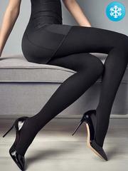 NO502 колготки женские, черные