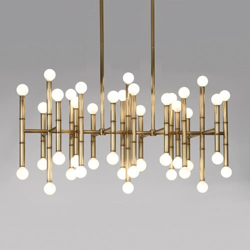 Meurice Rectangular Chandelier 3