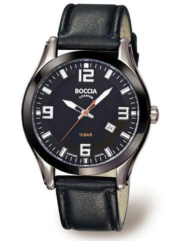 Купить Мужские наручные часы Boccia Titanium 3555-01 по доступной цене