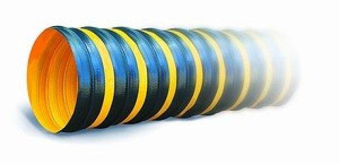 ПВХ Tex PVC - F 300 d160 1м Воздуховод на основе полиэфирной ткани, пропитанной