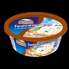 """Сыр творожный """"Hochland"""" с грибами  140 г"""