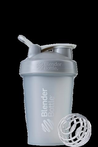 BlenderBottle Classic Шейкер классический с венчиком-пружинкой серый-графит серый-графит 591 мл